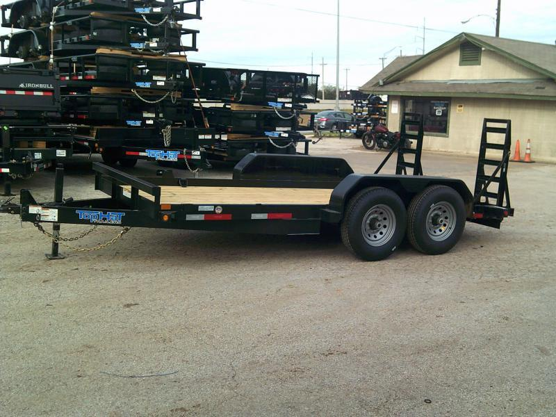 2020 Top Hat Trailers SSBC12X81-14E-F Equipment Trailer