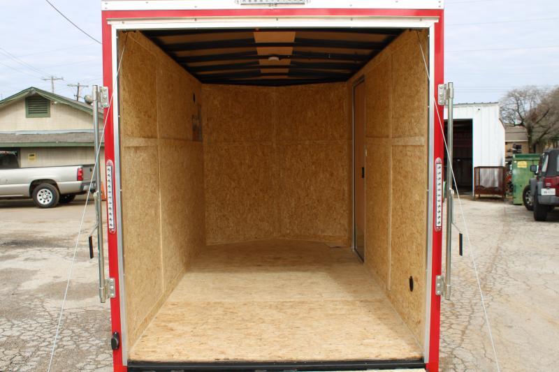 2021 Cargo Express 6X12 Enclosed Cargo Trailer W/ Rear Ramp