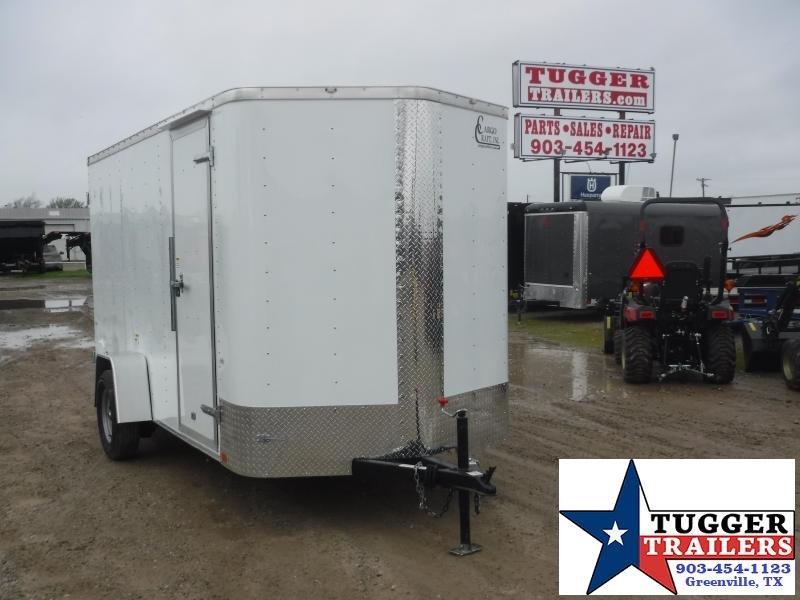 2020 Cargo Craft 6x12 12ft Elite Plus 2' V-Nose Double Door Enclosed Cargo Trailer
