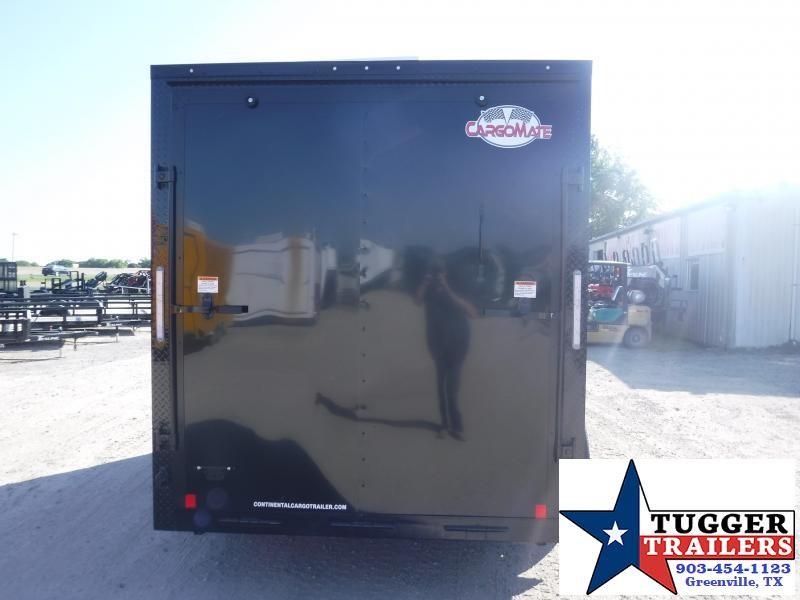 2020 Cargo Mate 7x14 14ft LE TA Blackout Ramp Enclosed Cargo Trailer