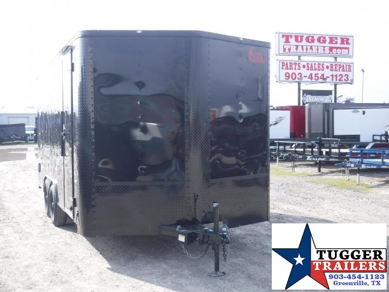 2020 Cargo Craft 8.5x16 16ft Black Out Utility Enclosed Cargo Trailer