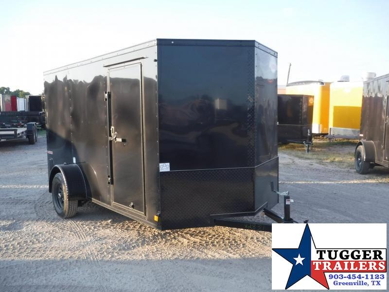 2020 Cargo Mate 6x12 12ft E-V Blackout Enclosed Cargo Trailer