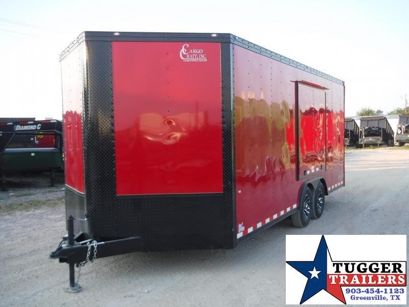 2020 Cargo Craft 8.5x23 23ft Cargo Enclosed Auto Mobile Blackout Car / Racing Trailer