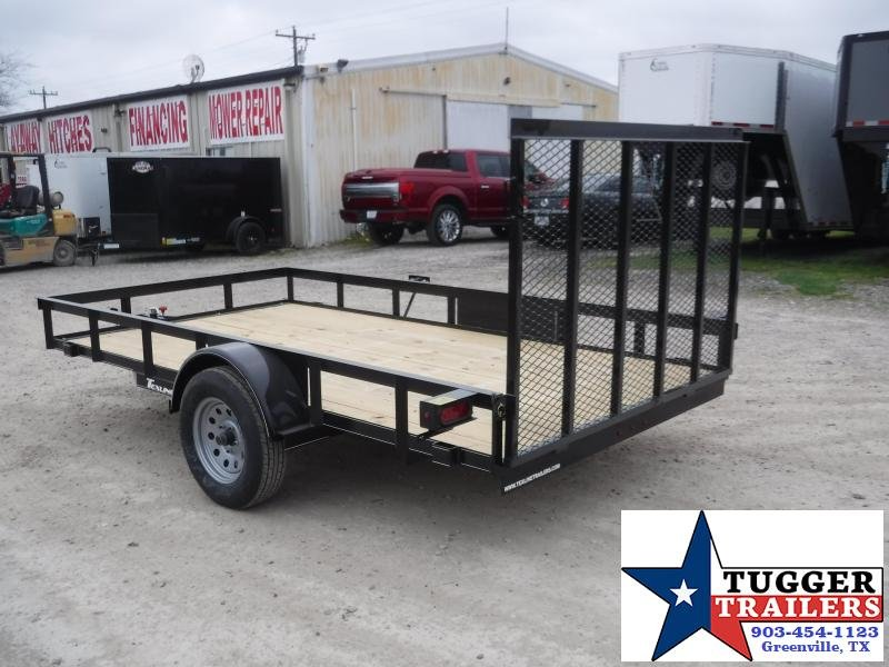 2020 TexLine 77x12 12ft Flatbed Steel Work Move Utility Trailer