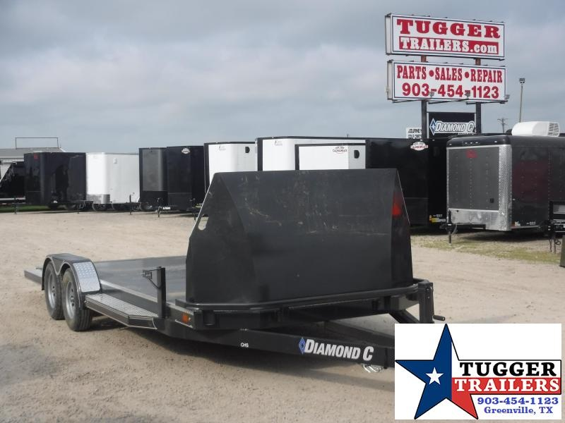 2020 Diamond C Trailers 83x20 20ft CHS Open Flatbed Steel Utility Auto Car / Racing Trailer