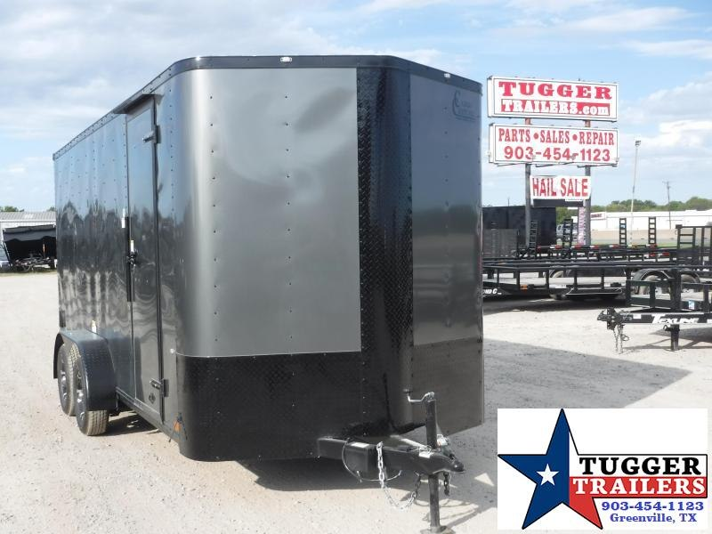 2020 Cargo Craft 7x16 16ft Blackout Ramp Enclosed Cargo Trailer