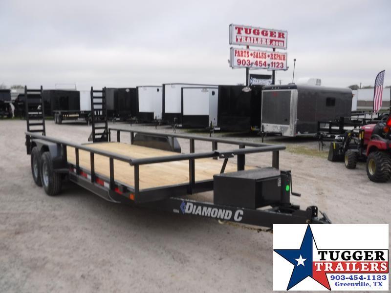 2020 Diamond C Trailers 82x20 20ft Utility Flatbed Steel Heavy Duty Farm Equipment Trailer