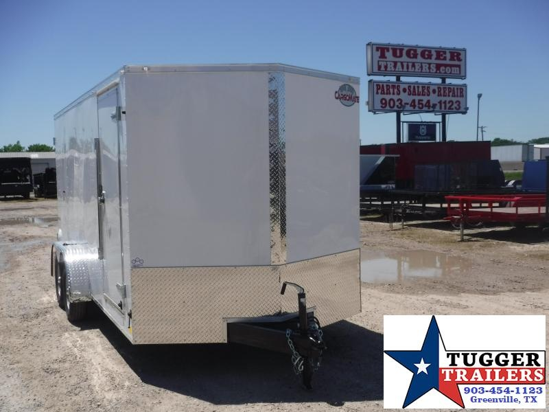 2021 Cargo Mate 7x16 16ft E-Series Double Door Utility Supply Enclosed Cargo Trailer