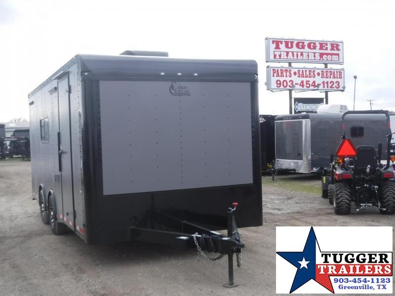 2020 Cargo Craft 8.5x20 20ft Torsion Black Out Enclosed Cargo Trailer