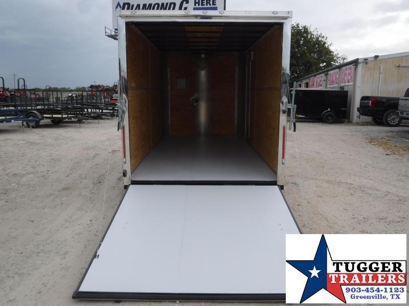 2020 Cargo Craft 7x14 14ft White Ramp Enclosed Cargo Trailer