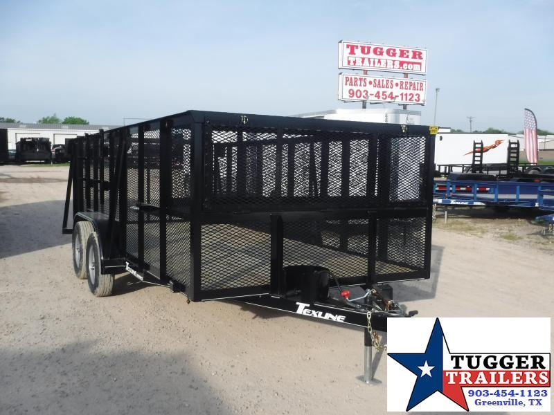 2020 TexLine 83x16 16ft Landscape Lawn Mow Business Work Utility Trailer