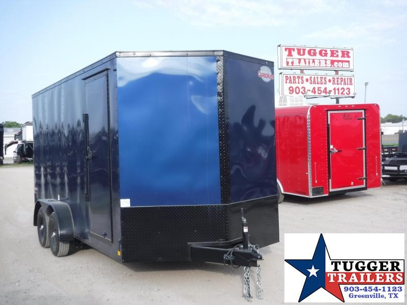 2020 Cargo Mate 7x16 16ft E-Series Blackout Enclosed Cargo Trailer