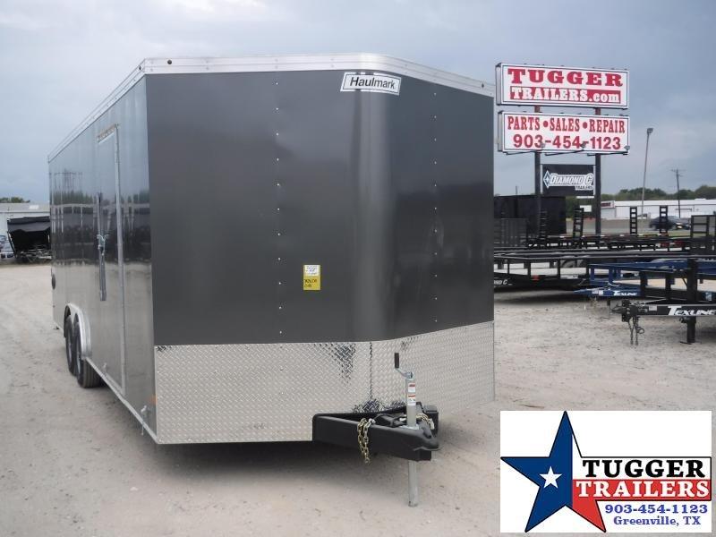 2020 Haulmark 8.5x24 24ft Charcoal Transport Auto Mobile Cargo Car / Racing Trailer