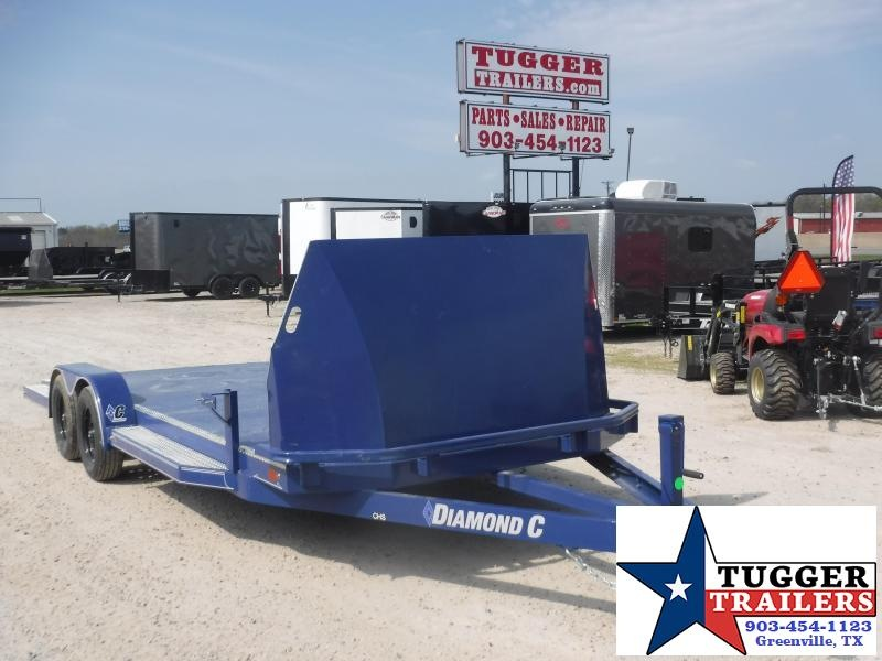 2020 Diamond C Trailers 83x20 20ft CHS Auto Mobile Open Utility Steel Car / Racing Trailer