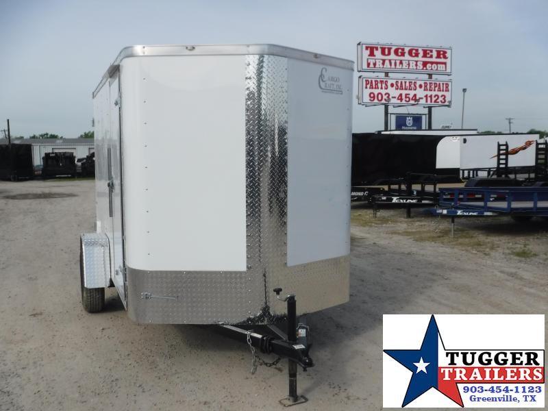 2020 Cargo Craft 6x10 10ft Elite Plus 2' V-Nose Utility Sport Lawn Enclosed Cargo Trailer