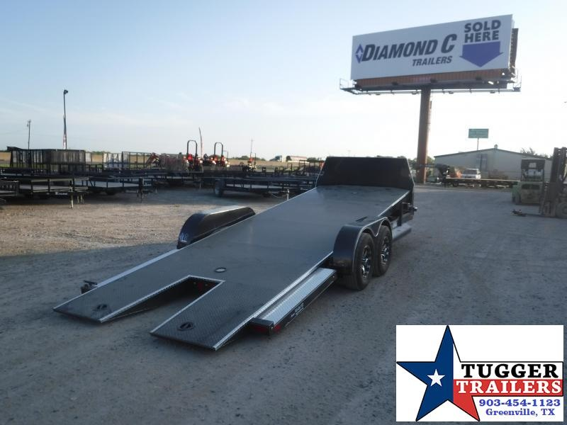 2019 Diamond C Trailers 83x22 22ft Equipment Tilt Heavy Duty Flatbed Open Car Hauler Trailer