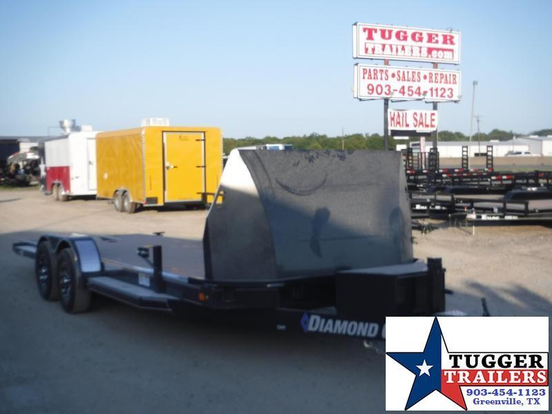 2019 Diamond C Trailers 83x22 22ft Equipment Tilt Heavy Duty Flatbed Open Car Hauler Trailer