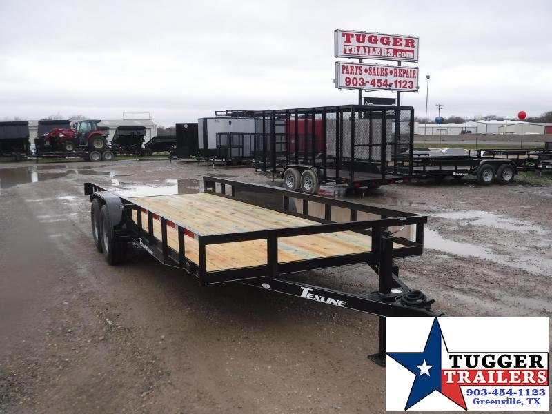 2019 TexLine 83x20 20ft Utility Trailer