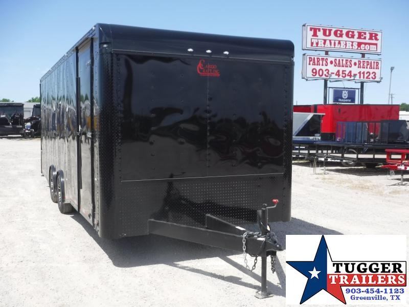 2020 Cargo Craft 8.5x24 24ft Blackout Cargo Enclosed Auto Mobile Car / Racing Trailer