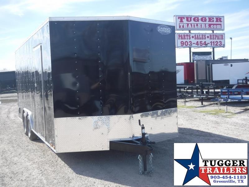 "2020 Cargo Express 8.5x20 20ft 18"" V-Nose Enclosed Ramp Auto Mobile Car / Racing Trailer"