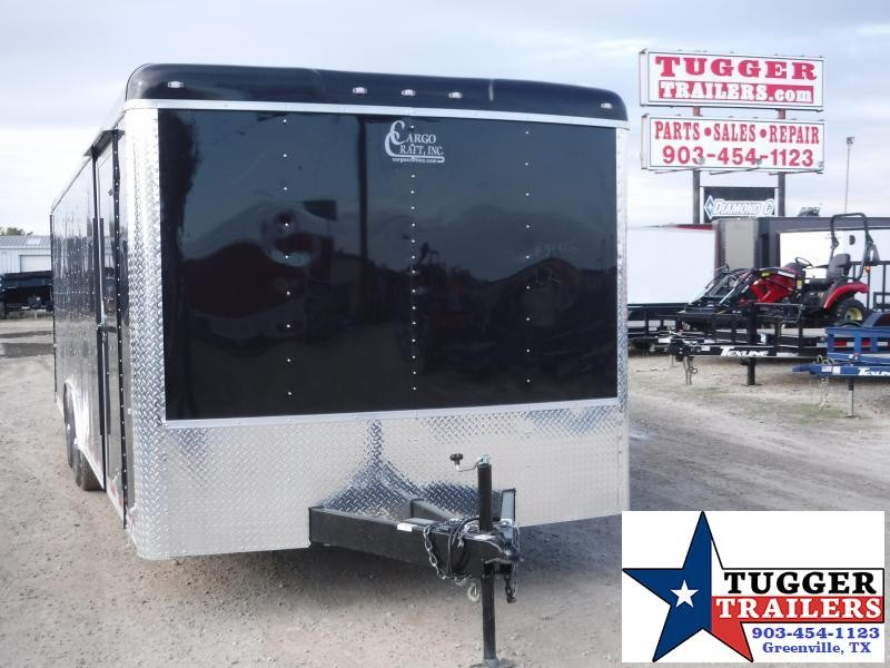 "2020 Cargo Craft 8.5'X24"" Auto Enclosed Cargo Trailer"