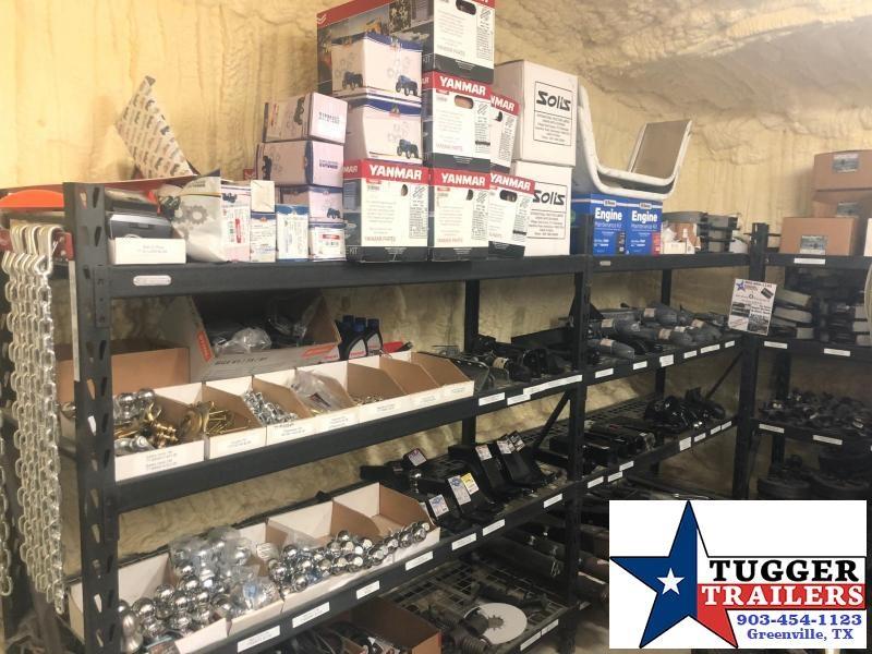 2020 Texas Pride Trailers 7x14 14ft Telescoping Steel Heavy Duty Work Lawn Dump Trailer