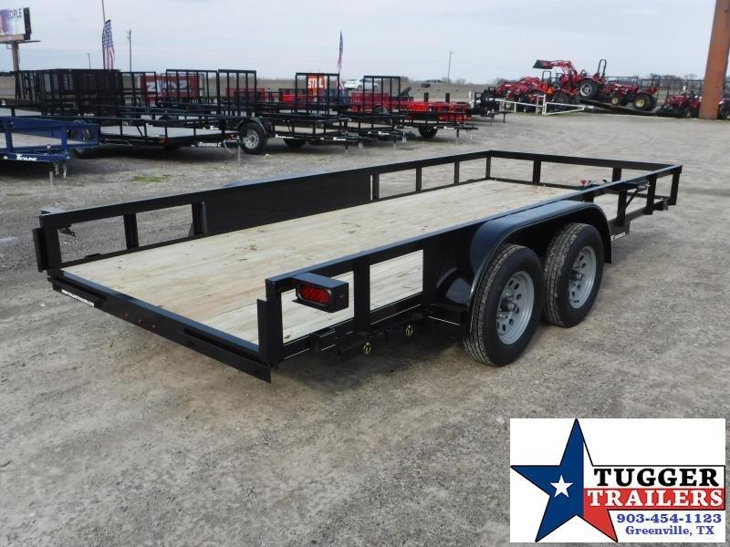 2020 TexLine 77x16 16ft Flatbed Utility Trailer