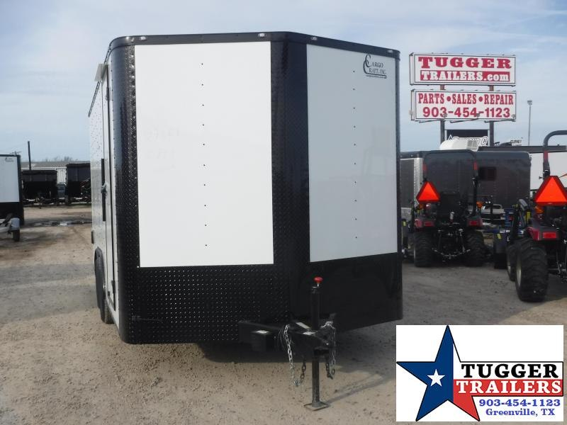 2020 Cargo Craft 8.5x16 16ft Black Out Ramp Utility Toy Work Enclosed Cargo Trailer