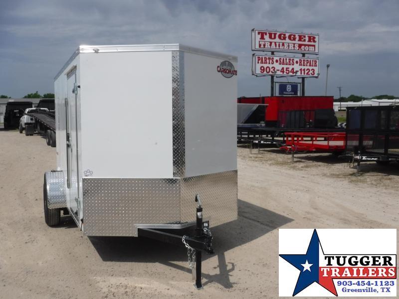 2021 Cargo Mate 6x10 10ft E-V Ramp Utility Bike Trail Camp Move Enclosed Cargo Trailer