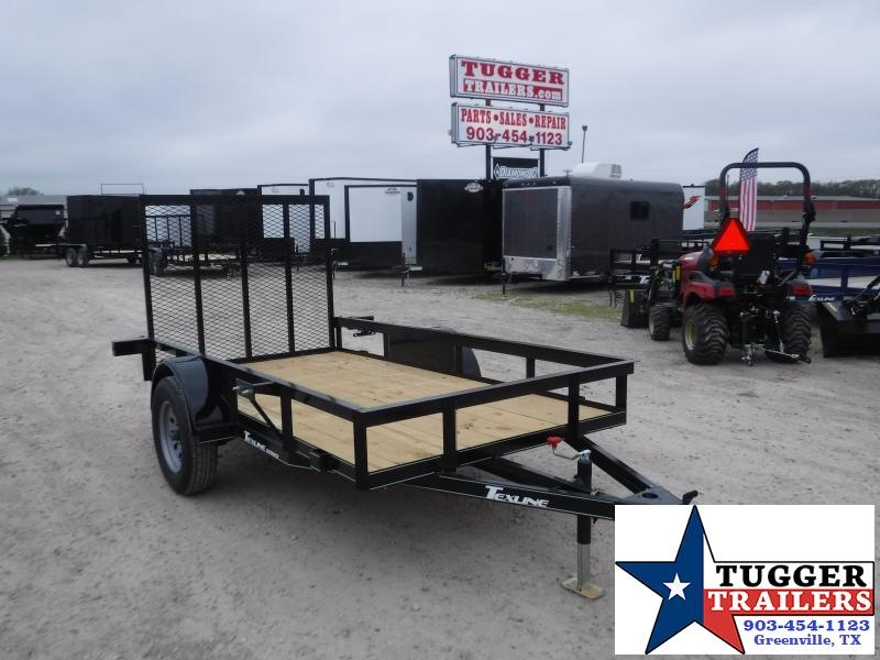 2020 TexLine 5x10 10ft Flatbed Steel Heavy Duty Utility Trailer