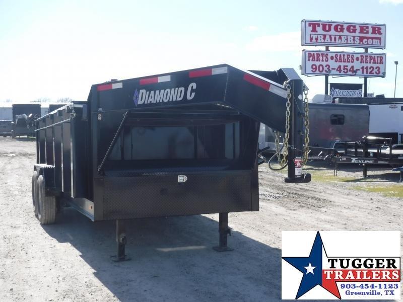 2019 Diamond C Trailers 82x14 14ft LPD207 Dump Trailer