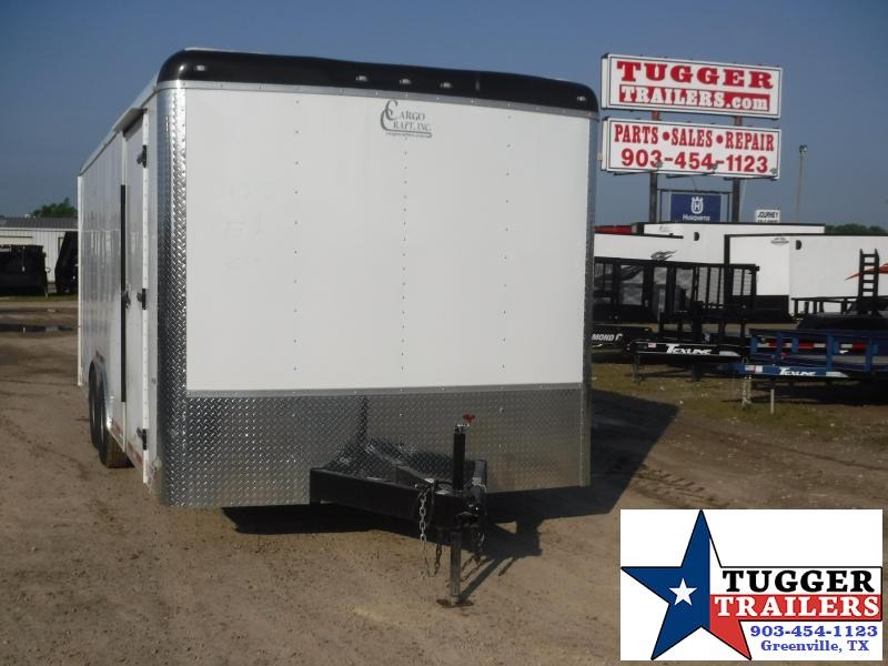2020 Cargo Craft 8.5x20 20ft Utility Auto Mobile Car Race Office Enclosed Cargo Trailer