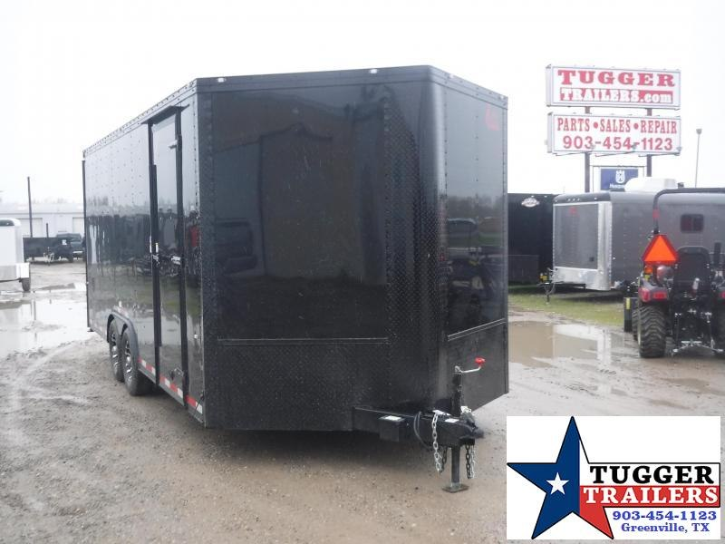 2020 Cargo Craft 8.5x23 23ft Black Out Cargo Enclosed Auto Mobile Car / Racing Trailer