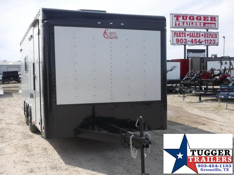 2020 Cargo Craft 8.5x20 20ft Blackout Cargo Enclosed Ramp