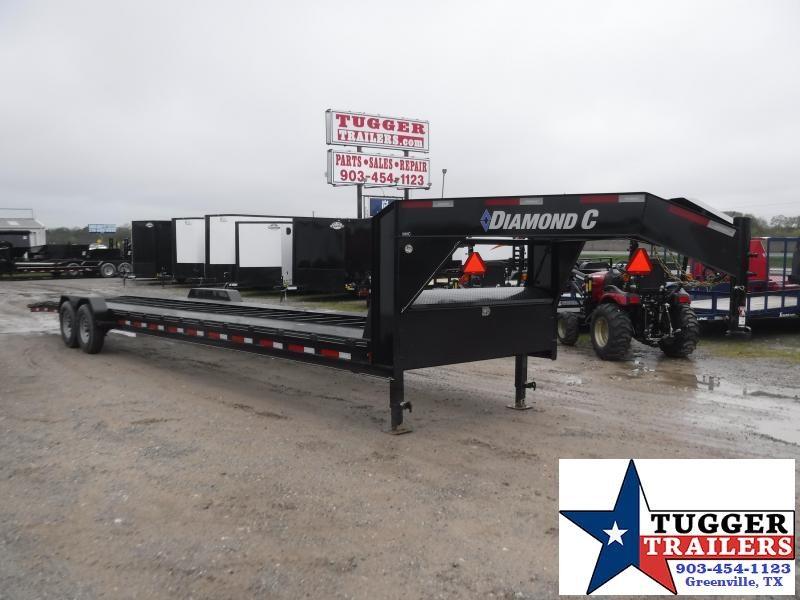 2020 Diamond C Trailers 82x36 36ft Goose Neck MVC Heavy Duty Utility Auto Car / Racing Trailer