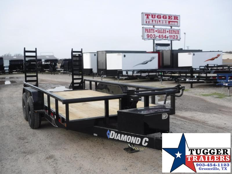 "2020 Diamond C Trailers 83""X16' Equipment Trailer"