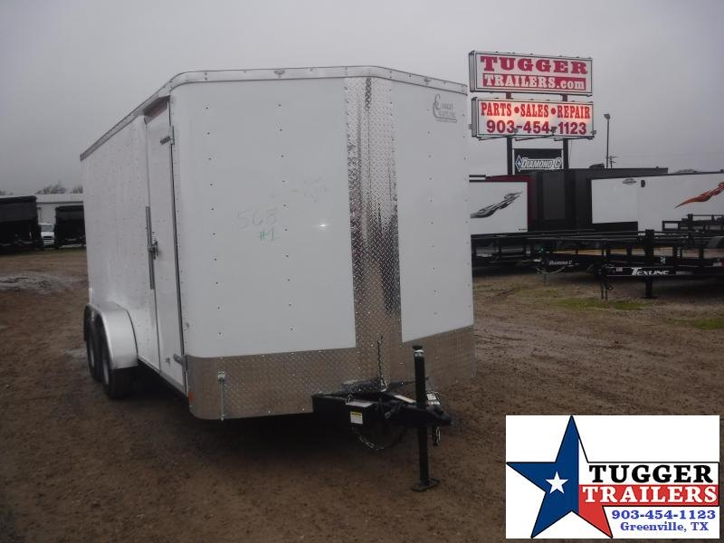 2020 Cargo Craft 7x16 16ft Ramp Utility Sport Tailgate Band Move Enclosed Cargo Trailer