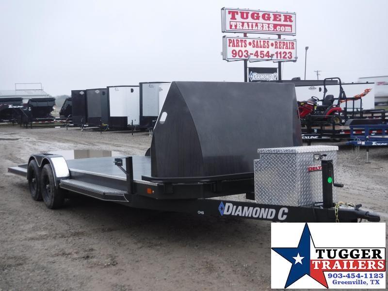 2020 Diamond C Trailers 83X22 CHS252 Flatbed Open Car Hauler Trailer