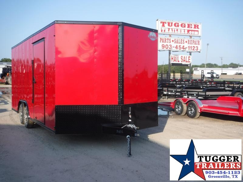 2020 Cargo Mate 8.5x20 20ft E-Series Blackout Enclosed Cargo Trailer