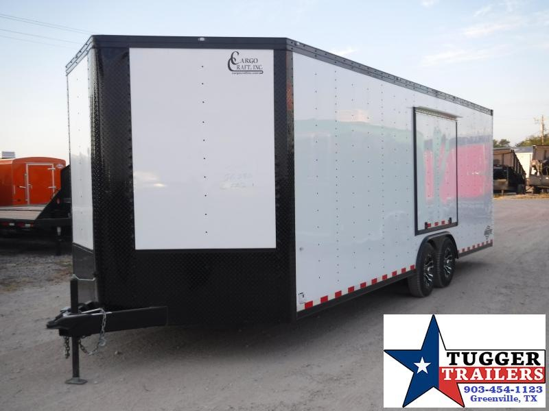 2020 Cargo Craft 8.5x24 24ft Enclosed Auto Mobile Classic Blackout Car / Racing Trailer