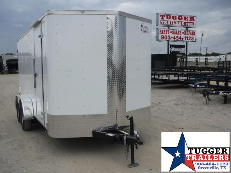 2020 Cargo Craft 7x14 14ft Ramp Enclosed Cargo Trailer