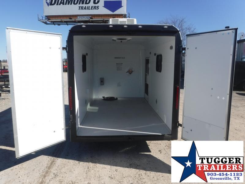 2019 Cargo Craft 6x12 12ft Double Door Utility Enclosed Cargo Trailer