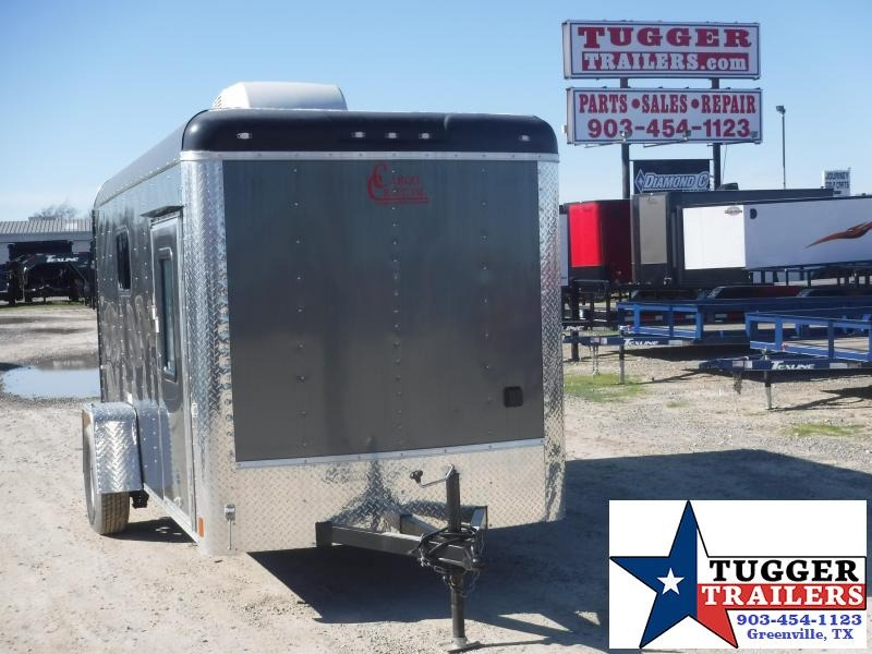 2019 Cargo Craft 6x12 12ft Double Door Utility Enclosed Cargo Trailer
