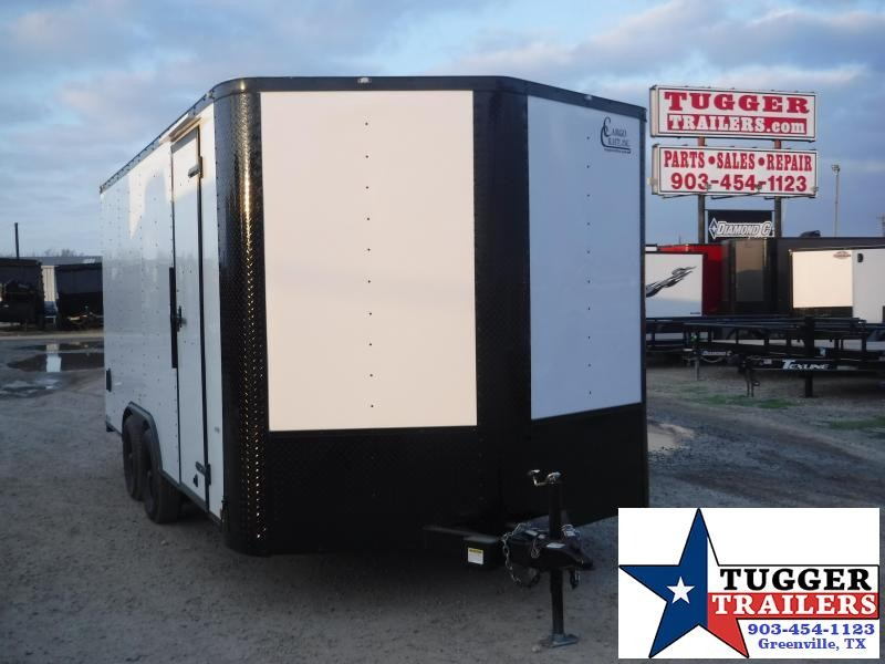 2020 Cargo Craft 8.5x16 16ft Black Out Ramp Enclosed Cargo Trailer