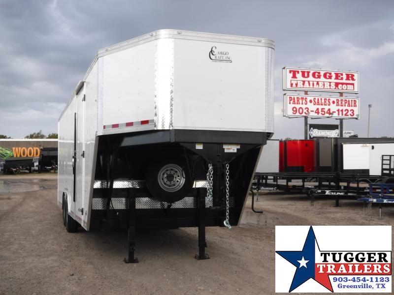 2020 Cargo Craft 8.5x32 Enclosed Gooseneck Car / Racing Trailer