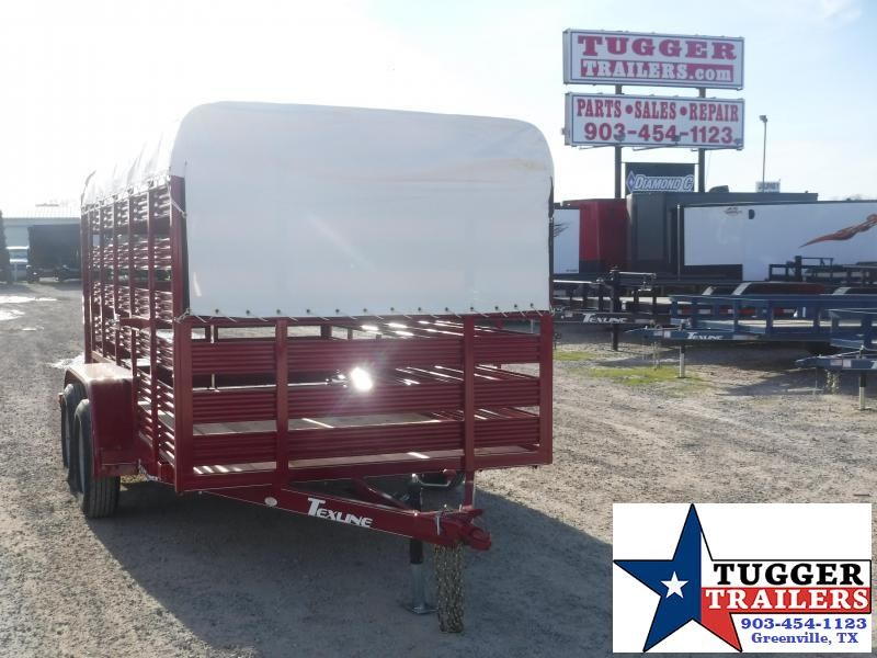 2020 TexLine 6x12 12ft Flatbed Utility Trailer