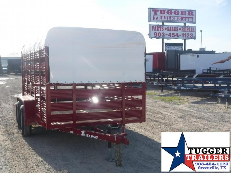 2020 TexLine 6x12 12ft Flatbed Utility Trailer