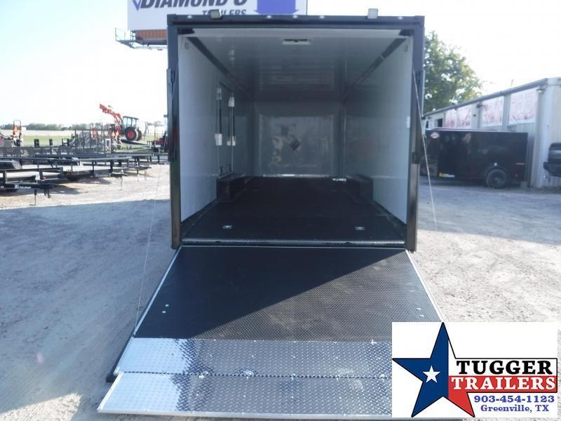 2020 Cargo Craft 8.5x32 32ft Blackout Auto Mobile Cargo Enclosed Car / Racing Trailer
