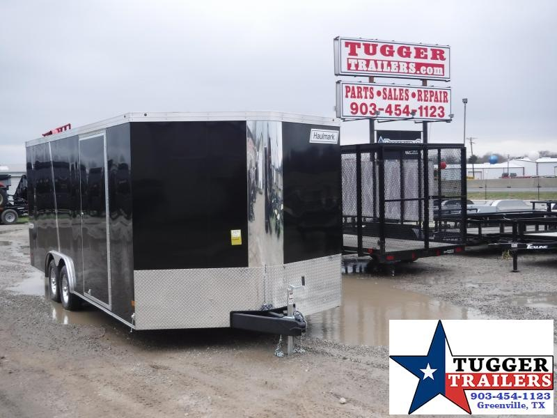 2019 Haulmark 8.5X20 20ft Accent Black 2019 with Ramp Enclosed Cargo Trailer