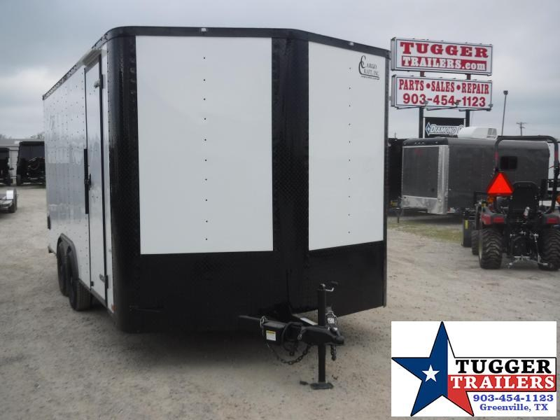 2020 Cargo Craft 8.5x16 16ft Ramp Utility Sport Band Tailgate Toy Enclosed Cargo Trailer